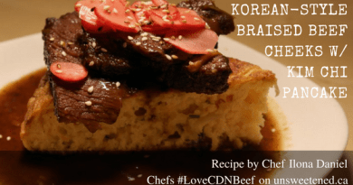 Chef Ilona Daniel's Braised Beef Cheeks