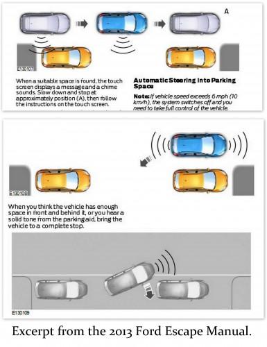 Ford Active Park Assist Diagram