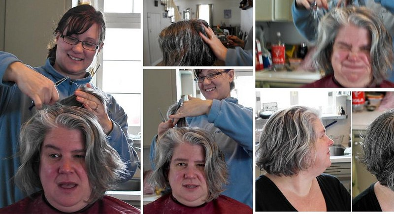 Fixing the Old Lady Hair