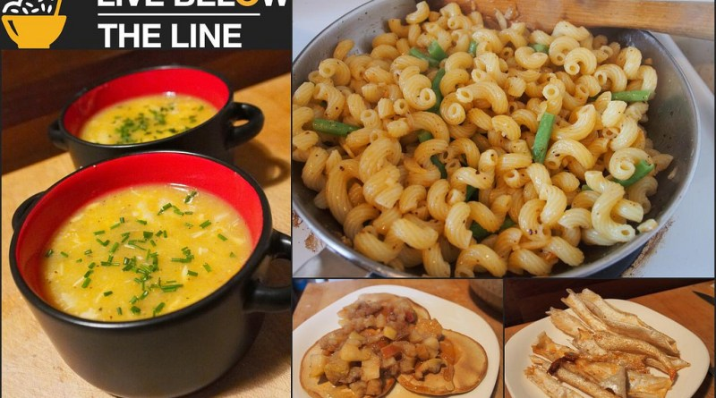 Live Below the Line - Day 2 food