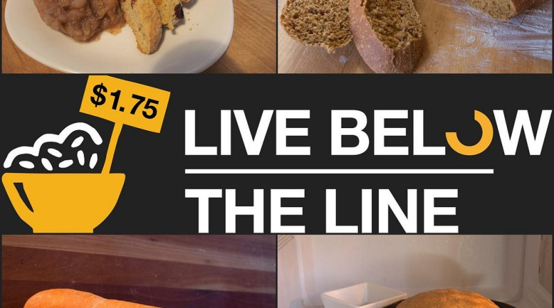 Live Below the Line - Day 3 Food
