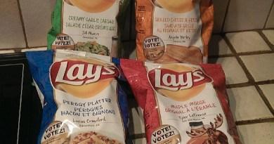 Lay's do us a flavour potato chip flavours