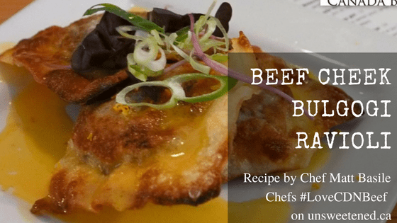 Chef Matt Basile's Beef Cheek Bulgogi Ravioli