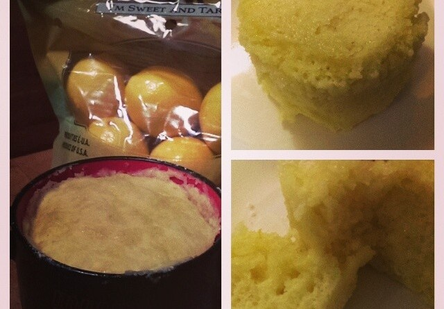 Myer Lemon Mug Cake