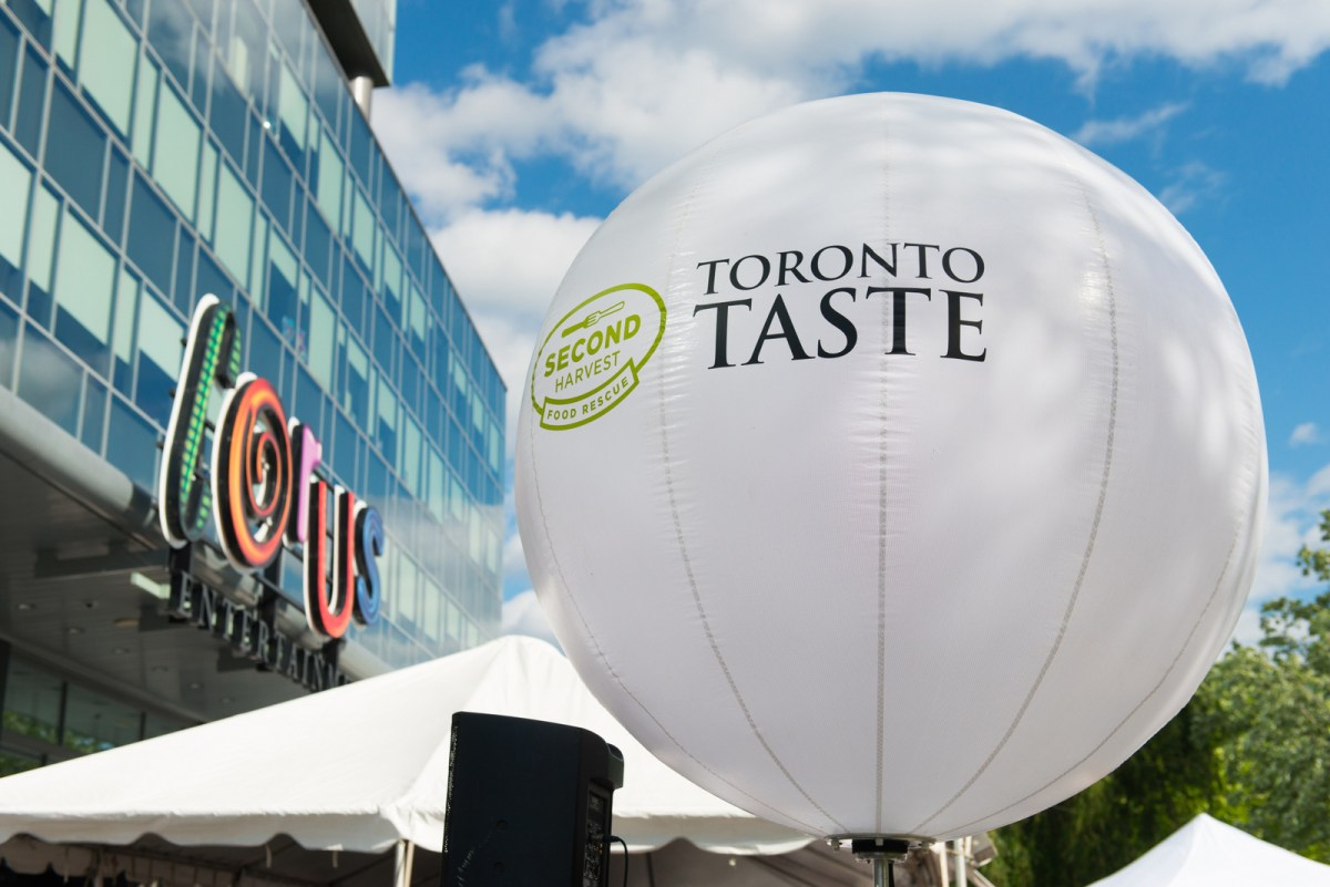 Toronto Taste 2015 -  Most Successful in 25 Years!