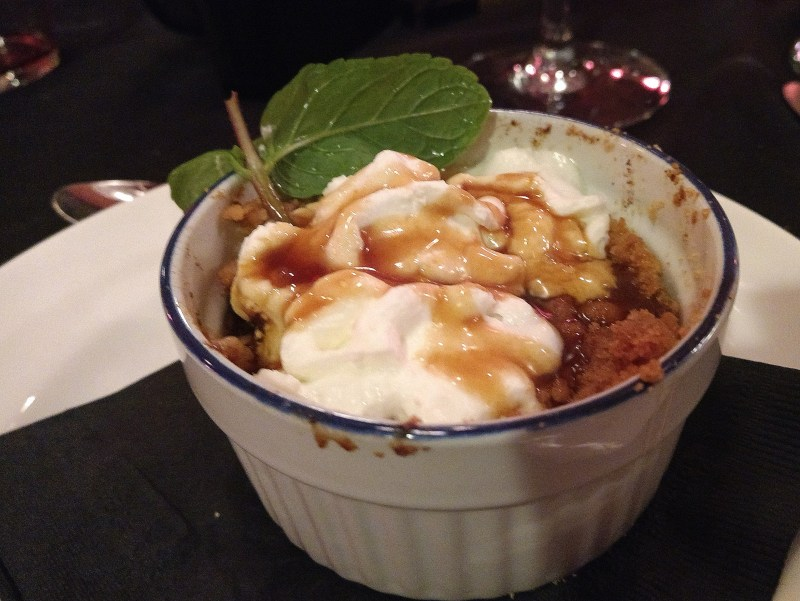 Grape and Olive Apple Crumble - LetsGoMaple
