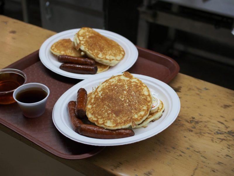 Pancakes at Shaw's Maple Bush - LetsGoMaple