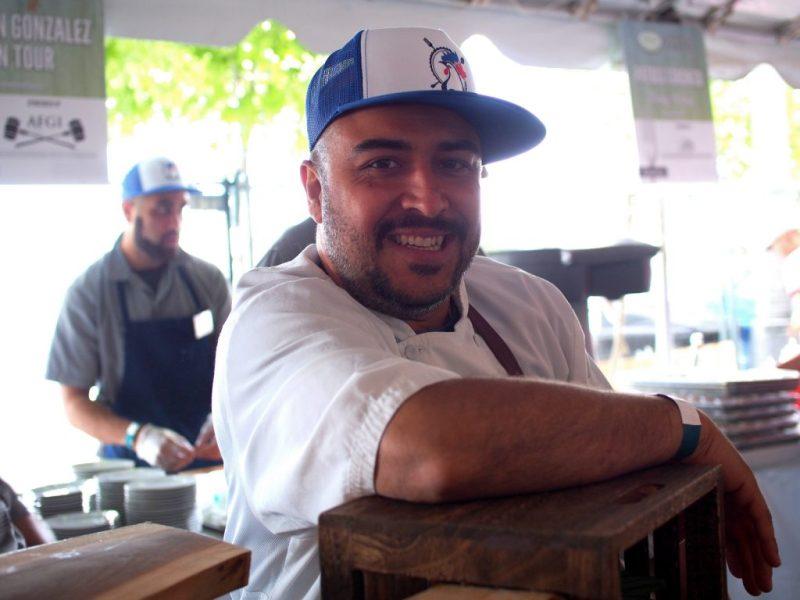 Chef Steve Gonzalez of Baro
