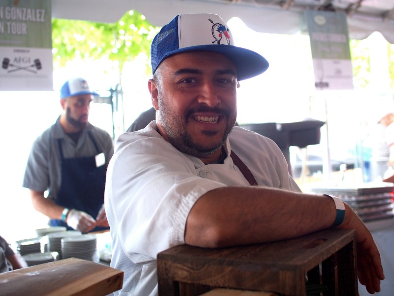 Chef Steve Gonzalez of Baro