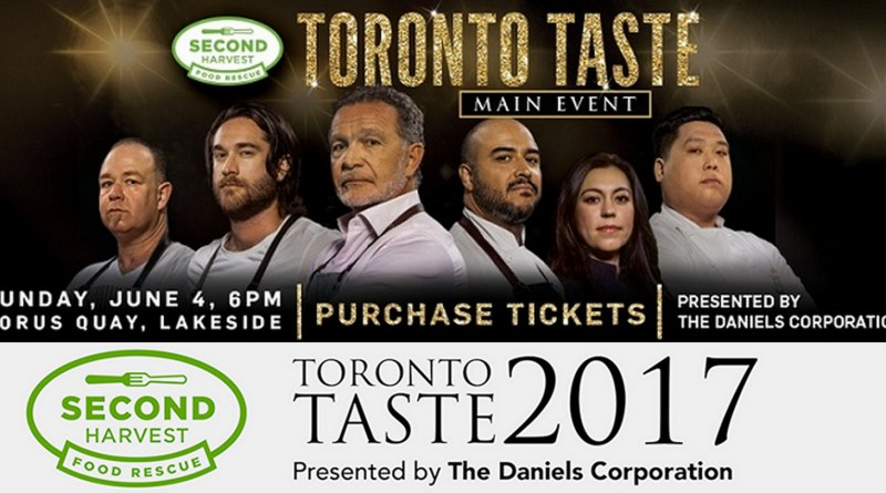 More Chefs Serving at Toronto Taste 2017