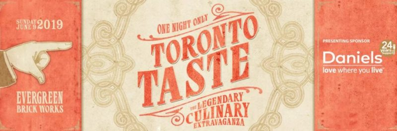 2019  Toronto Taste