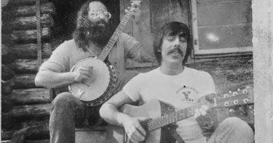 Peter Suttie on guitar & Jiim Clark on Banjo , 1972, Kingston Peninsula, NB