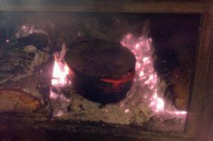 Cooking in the Coals