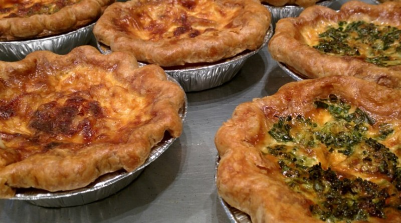 pies and quiche from Pan Chanco