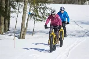 Winter fat tire bike rentals and trails in Maine » UNTAMED