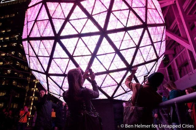 Behind the Scenes with the Times Square New Year s Eve Ball     New Years Ball Times Square Untapped Cities Ben Helmer 3778