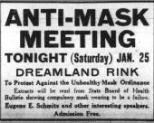 The Anti-Mask League of 1919: The Cultural Battle of an Enduring ...