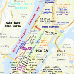 Fun Maps: Judgmental Map of NYC