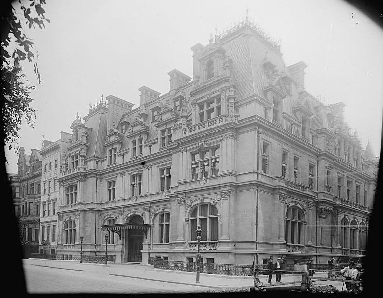 Mrs. Astor House 65th Street and 5th Avenue