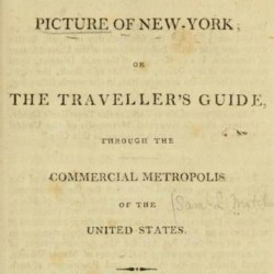 5 Must-See Spots From NYC's First Guidebook, Published in 1807