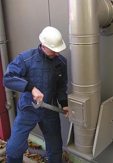 arr Service: Schutzkleidung für Mitarbeiter.