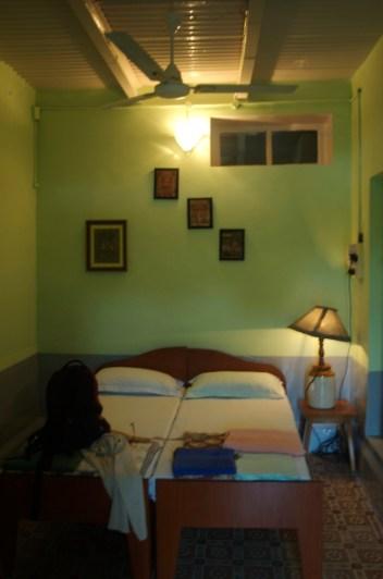Mein Zimmer in Mrs. Bhandari's Guest House