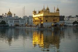 Der goldenen Tempel in Amritsar