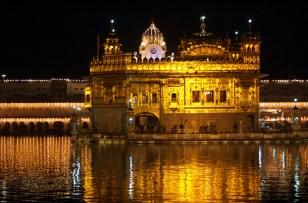 Abends im goldenen Tempel