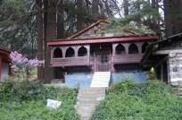 Typisches Haus bei Naggar