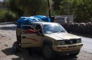 Unser Transportfahrzeug mit dem ich die letzten beiden Trekkingtage mitgefahren bin