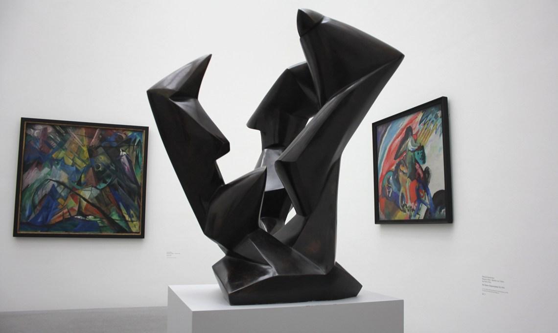 Dreiklang Rudolf Belling in der Pinakothek der Moderne in München