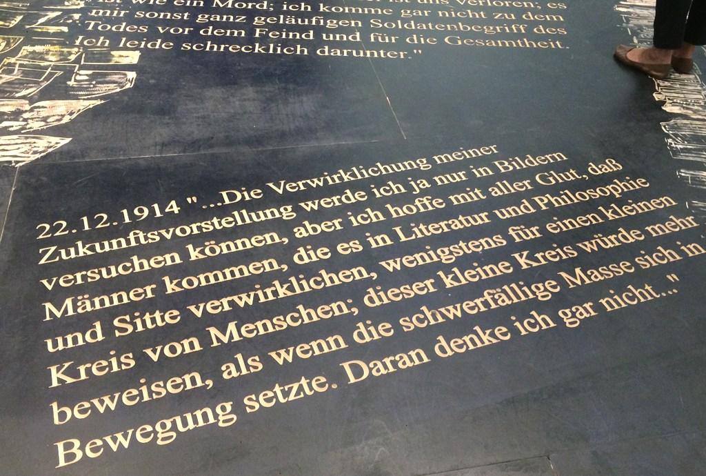 Zitat Franz Marc Briefe aus dem Felde