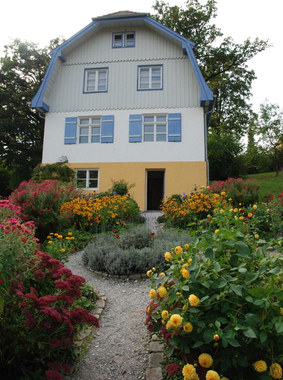 Gabriele Münter Haus Murnau unterwegsinsachenkunst