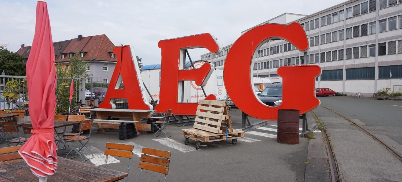 Offen Auf AEG Nürnberg copyright Lara Hoffmann unterwegsinsachenkunst