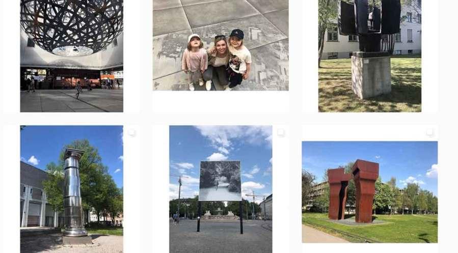 Kunst an der Frischen Luft auf Instagram