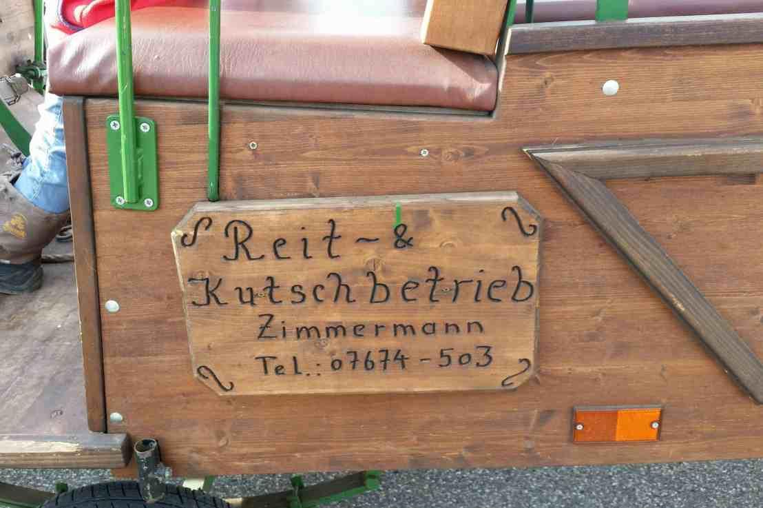 Kutschfahrt im Schwarzwald