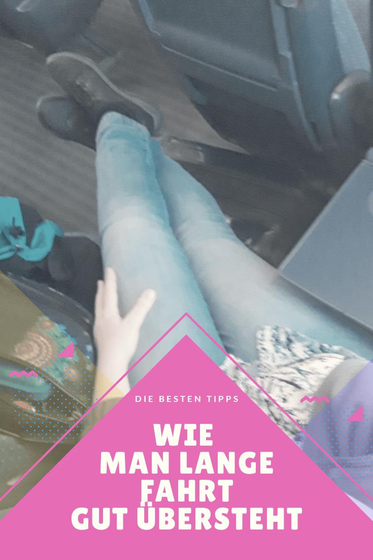 Auf langen Bahnfahrten ist es wichtig die Beine auszustrecken