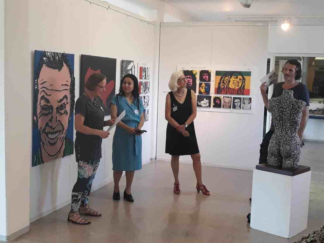 Eröffnung der DNArt, Kunstausstellung in Schopfheim