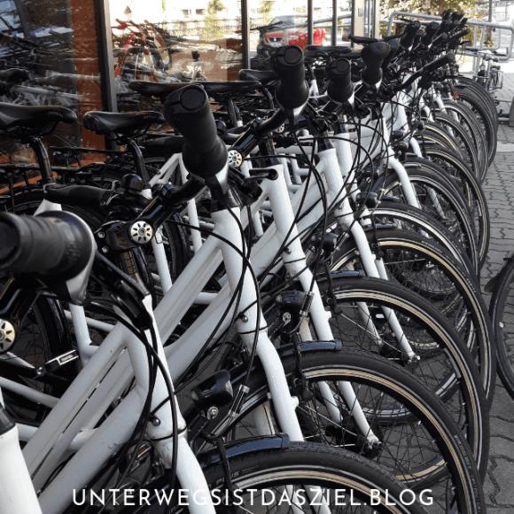 Leihfahrräder beim Velö Fahrradverleih in Lörrach