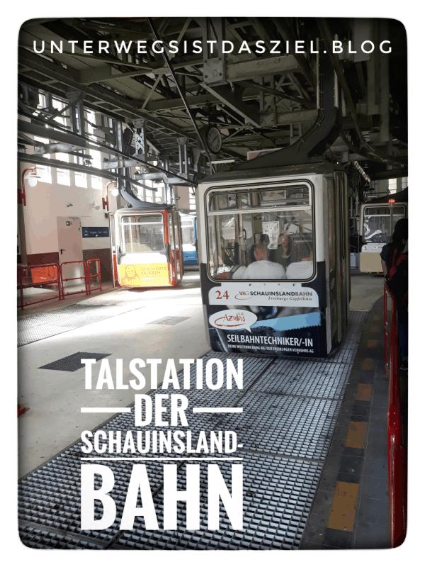 Talstation der Schauinslandbahn Seibahn auf den Schauinsland Schwarzwald Freiburg im Breisgau