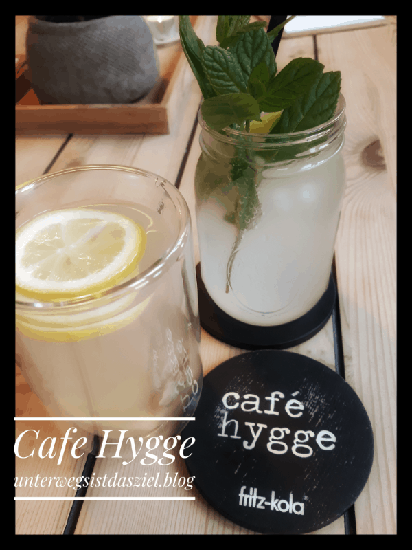 Getränke im Cafe Hygge