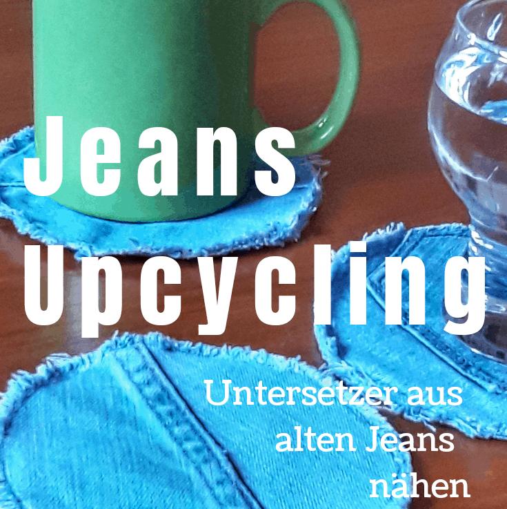 Upcycling: Untersetzer aus alten Jeans nähen