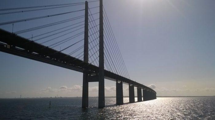 Reise nach Schweden Öresundbrücke
