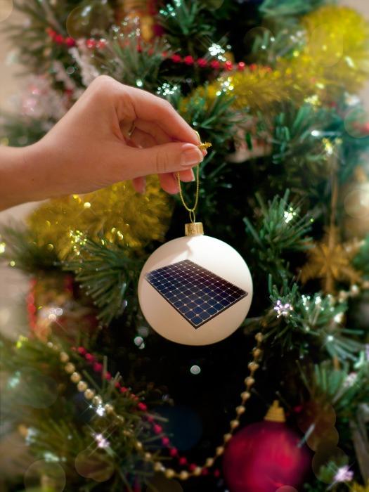Solar Christmas panel