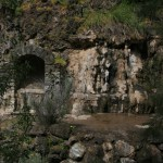 An old grotto at Alum Rock