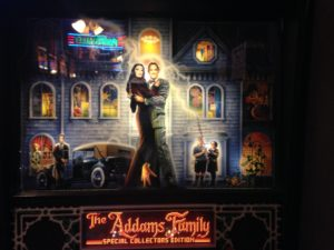 The Addams Family pinball