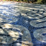 Labyrinth of First Congregational Church Palo Alto