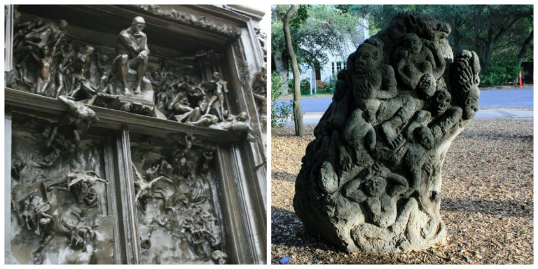 The two gates of hell at Stanford University