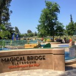Entrance to the Magical Bridge playground in Palo Alto