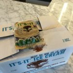 It's it ice cream sandwich at the factory store in Burlingame